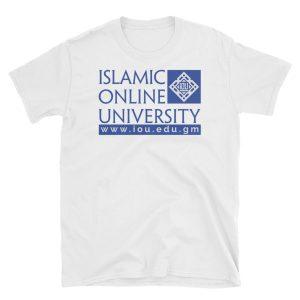 20f3d5f3bde IOU T-Shirt – Design 2 White Blue